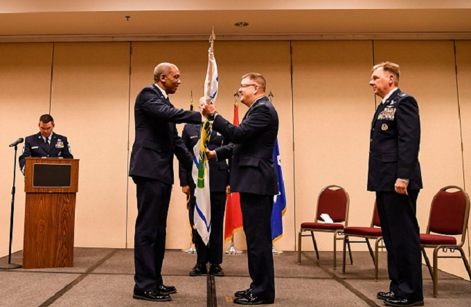 Col John Miner Takes Command